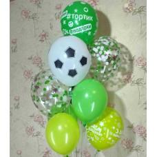 Гелиевые шарики для футболиста