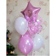 Гелиевые шарики для Любимой Доченьки
