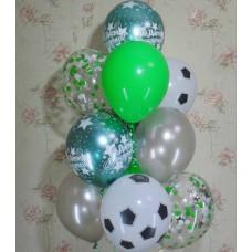 Гелиевые шарики футболисту