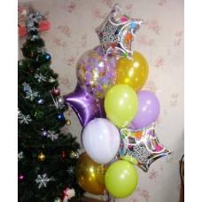 Гелиевые шарики Happy Birthday 2