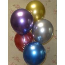 Гелиевые шарики Хромированные