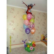 Гелиевые шарики Леди Баг