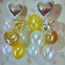 Гелиевые шарики Люблю