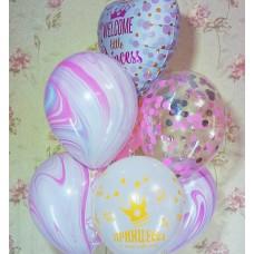 Гелиевые шарики маленькая Принцесса