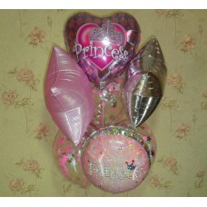 Гелиевые шарики Princess