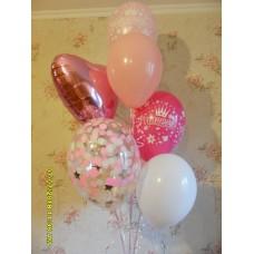 Гелиевые шарики принцессе
