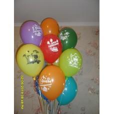 Гелиевые шарики с пиратами
