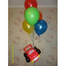 Гелиевые шарики с подарком мальчику