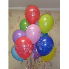 Гелиевые шарики в День народження