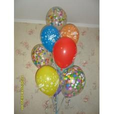 Гелиевые шарики в день рождения.