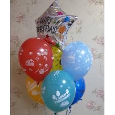 Гелиевые шары для мальчика