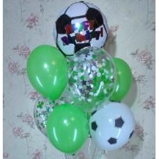 Гелиевые шары футболисту
