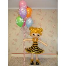 Гелиевые шары Кукла Лол